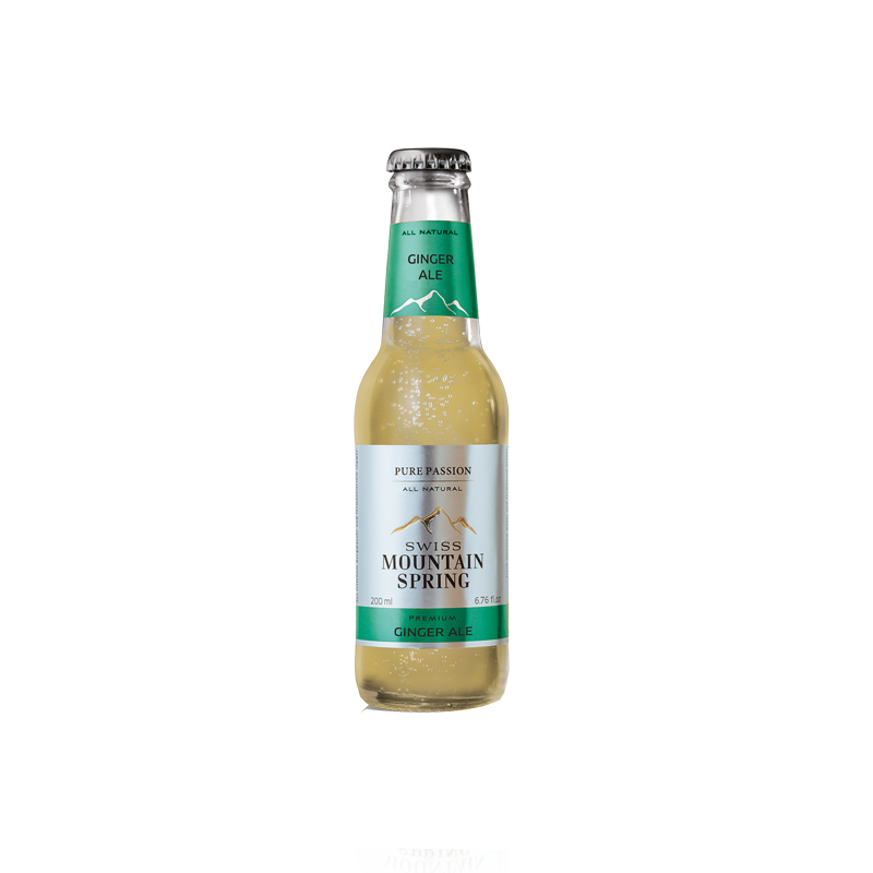 Made in GSA | Swiss Mountain Spring Ginger Ale