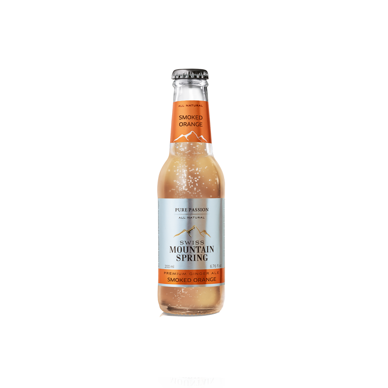 Made in GSA | Swiss Mountain Spring Ginger Ale - Smoked Orange