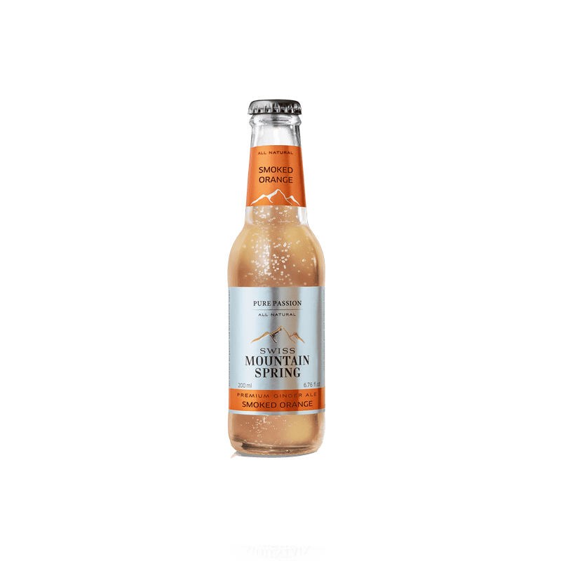 Made in GSA | Swiss Mountain Spring Ginger Ale - Smoked Orange