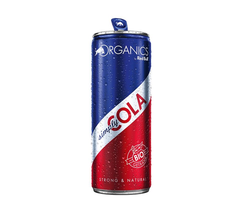 Made in GSA | Organics by Red Bull Simply Cola