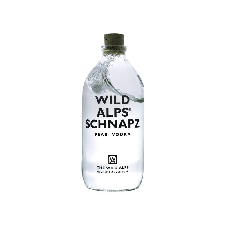 Made in GSA | Wild Alps Schnapz Vodka