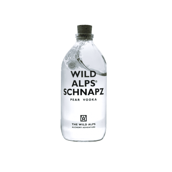 Made in GSA | Wild Alps Schnapz Vodka